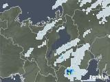 2020年07月05日の滋賀県の雨雲レーダー
