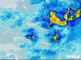 2020年07月06日の滋賀県の雨雲レーダー