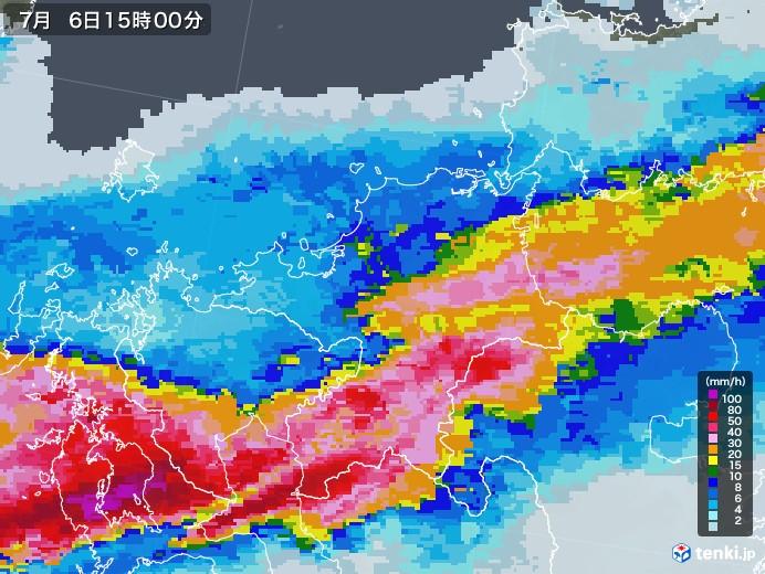 雨雲 レーダー 福岡 福岡県の雨雲レーダー(実況) - 日本気象協会