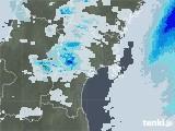 2020年07月08日の宮城県の雨雲レーダー