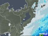 2020年07月09日の滋賀県の雨雲レーダー