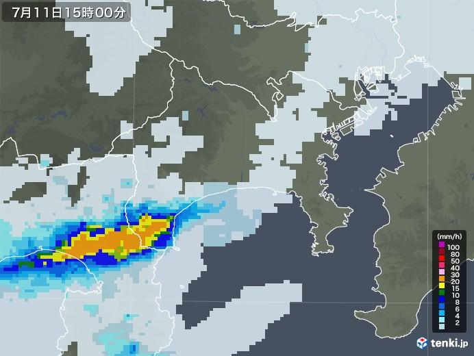 天気予報 雨雲レーダー 神奈川
