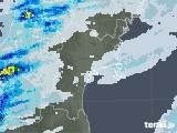 2020年07月11日の宮城県の雨雲レーダー