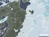 2020年07月13日の大分県の雨雲レーダー
