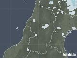 2020年07月13日の山形県の雨雲レーダー