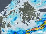 2020年07月14日の関東・甲信地方の雨雲レーダー