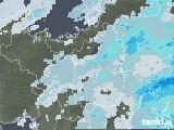 2020年07月14日の滋賀県の雨雲レーダー