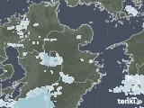2020年07月14日の大分県の雨雲レーダー