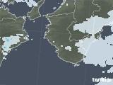 2020年07月15日の和歌山県の雨雲レーダー