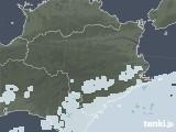 2020年07月16日の徳島県の雨雲レーダー