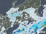 2020年07月17日の関東・甲信地方の雨雲レーダー