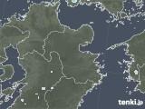 2020年07月17日の大分県の雨雲レーダー
