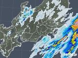 2020年07月18日の関東・甲信地方の雨雲レーダー