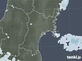2020年07月18日の宮城県の雨雲レーダー