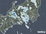 2020年07月20日の関東・甲信地方の雨雲レーダー