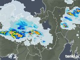 2020年07月21日の滋賀県の雨雲レーダー
