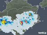 2020年07月21日の徳島県の雨雲レーダー
