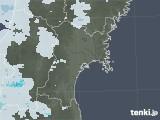 2020年07月21日の宮城県の雨雲レーダー