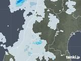 2020年07月21日の山形県の雨雲レーダー