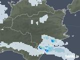 2020年07月22日の徳島県の雨雲レーダー