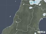 2020年07月22日の山形県の雨雲レーダー