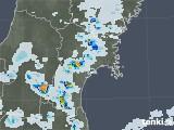 2020年07月23日の宮城県の雨雲レーダー