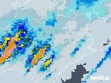 2020年07月24日の徳島県の雨雲レーダー