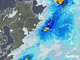 2020年07月24日の大分県の雨雲レーダー