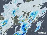 2020年07月25日の関東・甲信地方の雨雲レーダー