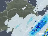 2020年07月25日の徳島県の雨雲レーダー
