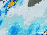 2020年07月26日の滋賀県の雨雲レーダー