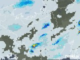 2020年07月27日の滋賀県の雨雲レーダー