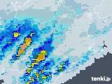 2020年07月27日の徳島県の雨雲レーダー