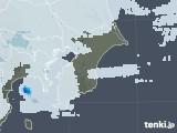 2020年07月28日の千葉県の雨雲レーダー