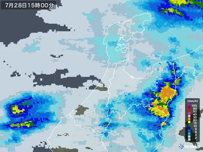 石川 県 天気 雨雲 レーダー