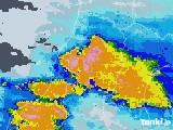 雨雲レーダー(2020年07月28日)