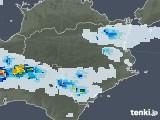 2020年07月29日の徳島県の雨雲レーダー