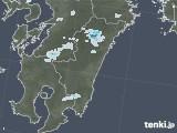 2020年07月29日の宮崎県の雨雲レーダー