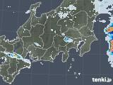 2020年07月31日の関東・甲信地方の雨雲レーダー