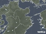 2020年07月31日の大分県の雨雲レーダー