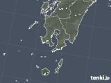 2020年07月31日の鹿児島県の雨雲レーダー