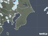 2020年08月01日の千葉県の雨雲レーダー