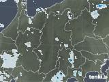 2020年08月02日の長野県の雨雲レーダー