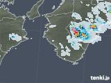 2020年08月02日の和歌山県の雨雲レーダー