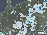 2020年08月03日の長野県の雨雲レーダー