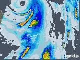 2020年08月03日の沖縄県(宮古・石垣・与那国)の雨雲レーダー