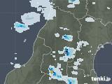 2020年08月03日の山形県の雨雲レーダー