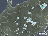 2020年08月05日の長野県の雨雲レーダー