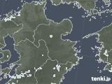 2020年08月05日の大分県の雨雲レーダー
