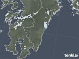 2020年08月05日の宮崎県の雨雲レーダー
